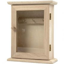 Key cabinet with window